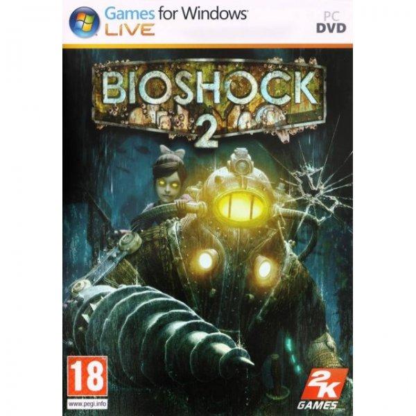 Bioshock 2 inkl. Minervas Den DLC (Steam) inkl. freies Remaster-Upgrade für 1,78€ [Play-Asia]