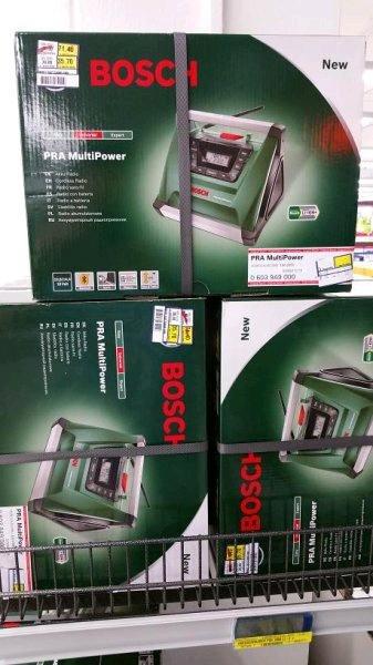 [Ausverkauft][Lokal][Metro Würselen] Bosch PRA MultiPower Akku Radio