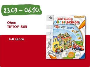 "[McDonalds] Tiptoi Buch ""Mein großes Bilderlexikon"" im Happy Meal ab den 23.09.2016"