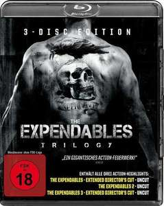 The Expendables Trilogy (Blu-ray) FSK 18 für 8,99€ bei Filialabolung Thalia