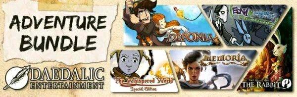 [Steam] Daedalic Adventure Bundle (PC) für