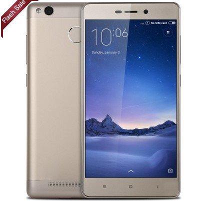 [Gearbest]XIAOMI Redmi 3 Pro 4G (32GB) in Gold für ~130€