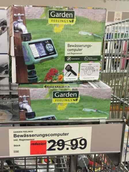 [OFFLINE] Bewässerungscomputer mit Regensensor 19,00€ statt 29,99€ bei Aldi in Dortmund