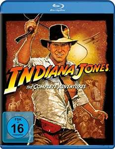 Indiana Jones - The Complete Adventures (1-4) (Bluray) für 11,91€ inkl. Versand u.a. Boxen [Thalia]