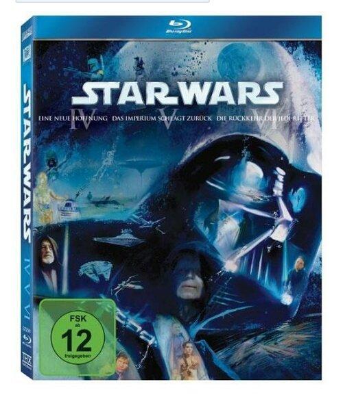 Star Wars Trilogie IV-VI & I-III blu-ray [Thalia.de] wieder verfügbar für jeweils 29,23 €