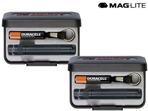 (IBood) 2x MAG-LITE Solitaire LED (schwarz)  für € 22,90 inkl. VSK