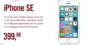 Apple Iphone SE 16GB - Gold @ Cyberport 399,-