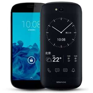 Yotaphone 2 LTE (5 FHD AMOLED + 4,7 qHD E-Ink, Snapdragon 800 Quadcore, 2GB RAM, 32GB eMMC, 8MP + 2,1MP Kamera, 2550mAh mit Qi und Quickcharge, Android 4.4 --> Root) für ~118€ [Gearbest] [kein Band 20]
