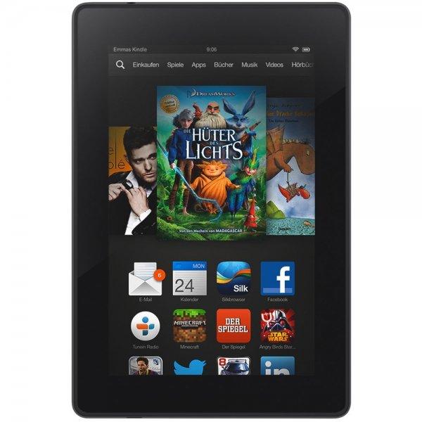 Amazon warehouse deal - Kindle Fire HD 7, 17 cm (7 Zoll), HD-Display, WLAN, 8 GB - Mit Spezialangeboten (Vorgängermodell - 3. Generation)