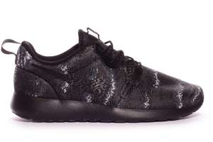 Nike Roshe One Knit Jacquard White & Black