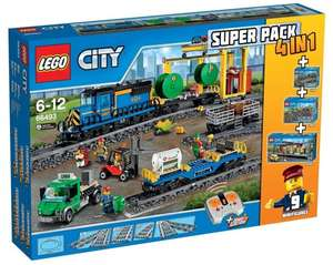 [Intertoys] LEGO City 4 in 1 Super Pack 66493 für 169,99 € [PVG 249,99 €]