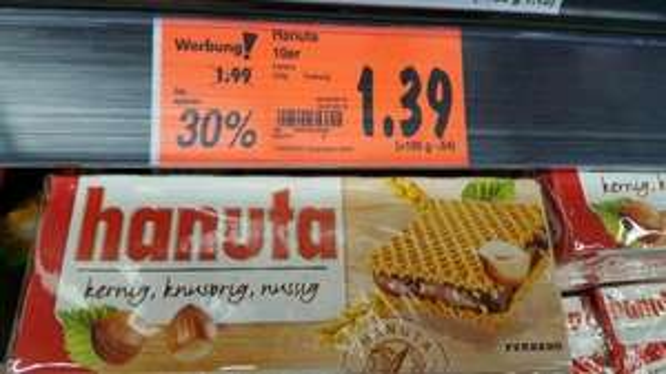 Hanuta 1,39€ Kaufland Langenau (Bundesweit?)