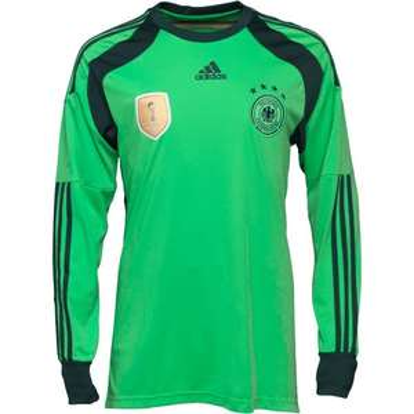 adidas Deutschland Torwart Trikot (grün) mit langem Arm