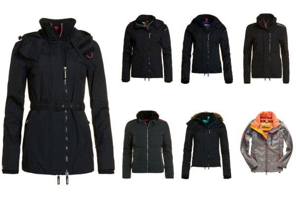 (ebay wow) Damen Superdry Jacken Versch. Modelle, Größen und Farben für € 31,96