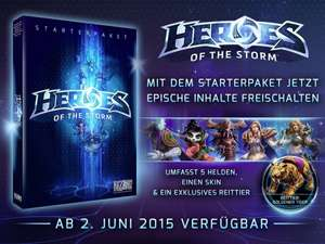 (Saturn) Heroes of the Storm: Starterpaket [PC] für 5€