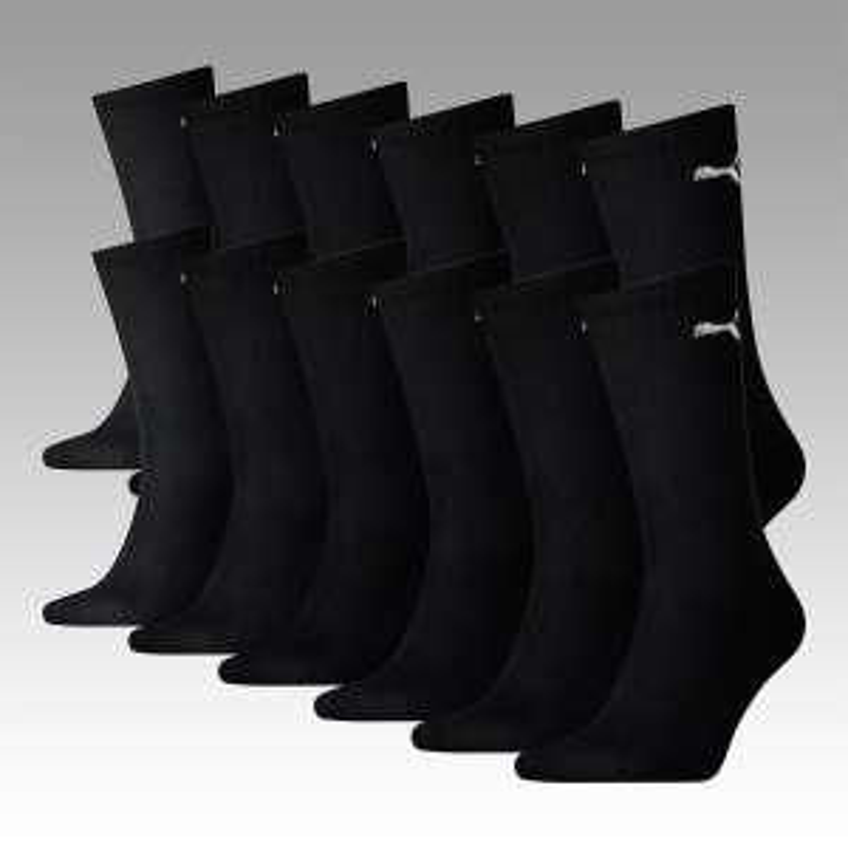 Socken 12er Pack Puma Crew verschiedene Farben für 19,95 € [allstar-sport]