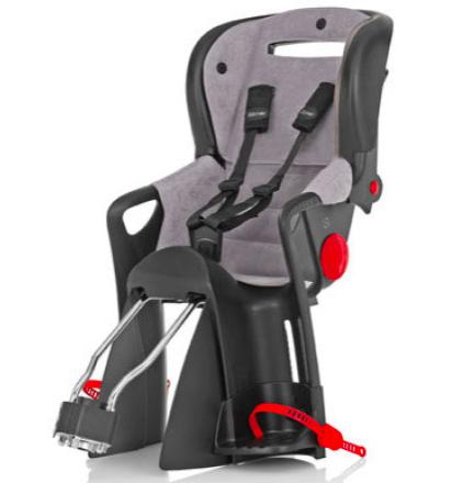 Römer Jockey Comfort Fahrradsitz in grau oder rot für 75,19€ inkl. VSK bei [babymarkt] statt ca. 90€