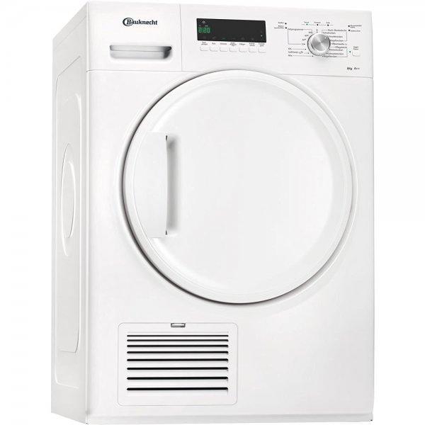 [Metro -> ab Morgen] Bauknecht TK Plus 8A2Di Wärmepumpentrockner / 8 kg / weiß / Knitterschutz / SoftFinish / Startzeitvorwahl [Energieklasse A++]