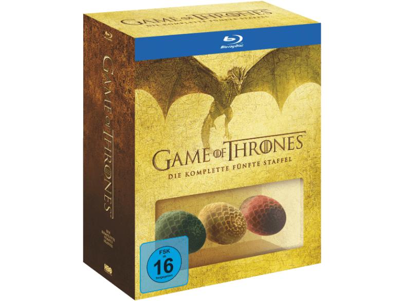 [lokal Saturn Berlin Alex] Game Of Thrones Staffel 5 (Blu-ray) exklusive & limitierte Edition inkl. 3 Dracheneier und Bonus-Disc für 25€
