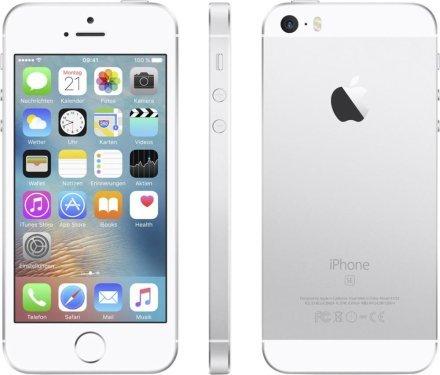 [Favorio] Apple iPhone SE 64GB silber *Refubished* für 469,85€ inc. Versand