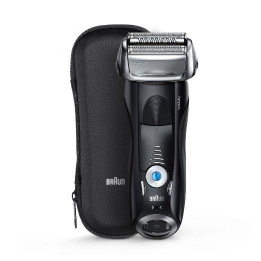(Amazon) Braun Series 7 7840s elektrischer Rasierer / Rasierapparat (Reise-Etui, Elektrorasierer einsetzbar als Trockenrasierer und Nassrasierer für 188,69€