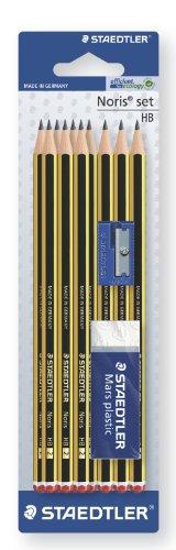 [Amazon] Staedtler Bleistift HB Set mit Radierer und Spitzer, 10 Stück