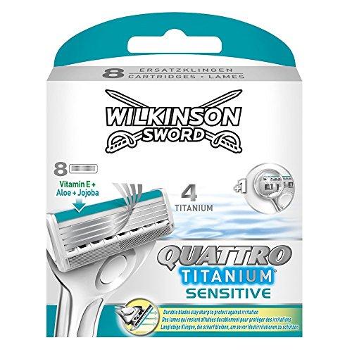 Wilkinson Quattro Titanium Rasierklingen 24 Stück (93 Cent pro Stück)