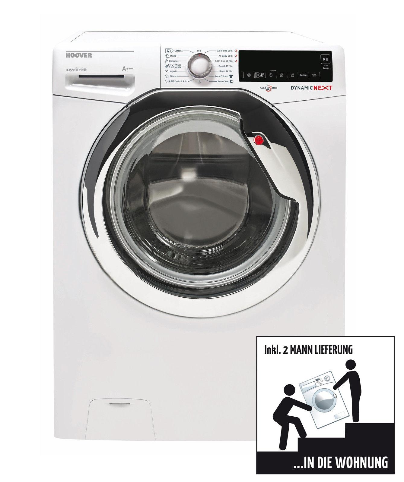Hoover DXA59 AH -S Dynamic Next Waschmaschine, EEK: A+++, 1500 U/Min, 9 KG  inkl. 2 Mann Lieferung in die Wohnung oder Keller @ebay 349,90€