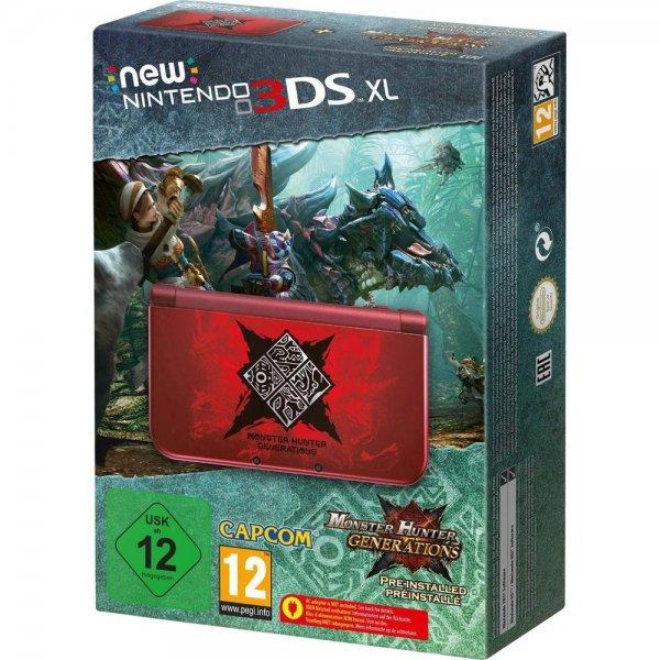 Nintendo New 3DS XL Konsole Rot inkl. Monster Hunter Generations [conrad]