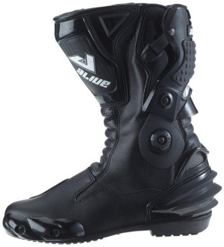 [Amazon WHD] Protectwear TS-006-41 Motorradstiefel Racing aliue, Wasserabweisend aus schwarzem Leder mit aufgesetzten Hartschalenprotektoren, !nur Größe 41! , Schwarz 19,52€ statt 79,90€