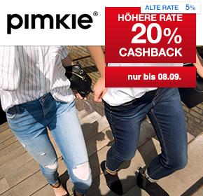 20% Cashback bei Shoop auf Pimkie