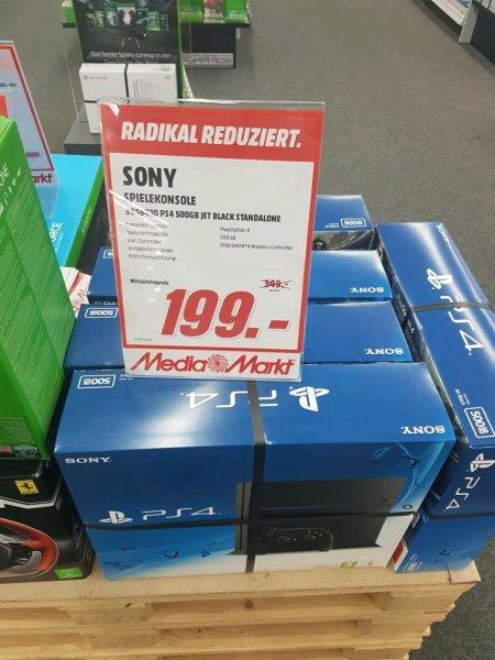 [Lokal Nienburg Weser?] Media Markt Playstation 4 einzeln für 199€