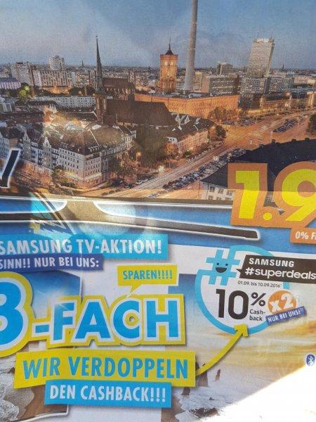 Euronics XXL in Leutkirch 2x Cashback für SUHD, Soundbar& Blu-ray Player