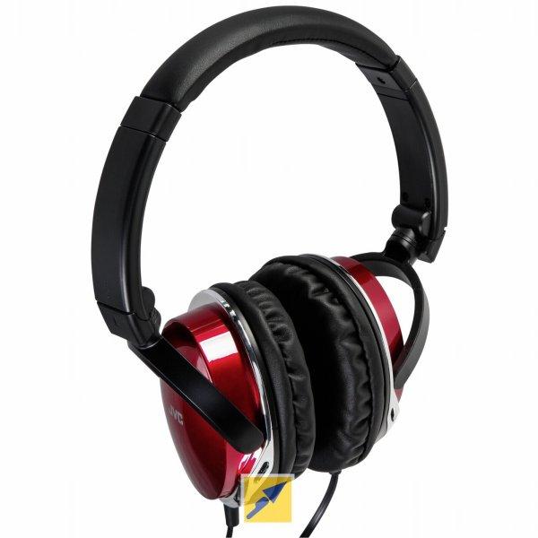 """(Null.de) JVC - Over-Ear-Kopfhörer """"HA-S660-R-E"""" in Rot für €19,99 VSK-frei"""