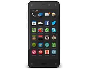 Amazon Fire Phone, Smartphone, 4G LTE, 32 GB, schwarz, Neuware