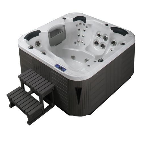 Bellagio Hot Tub Spa Outdoor Whirlpool Cerium Contessa Silver