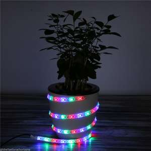 1M USB SMD3528 RGB 60 LED Light Strip Streifen Lichtleiste Lichterkette Dekor