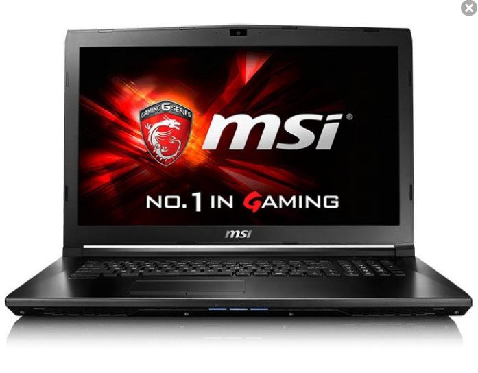 MSI GL72-6QDi581 - Intel Core i5-6300HQ 2.30GHz (Win10)