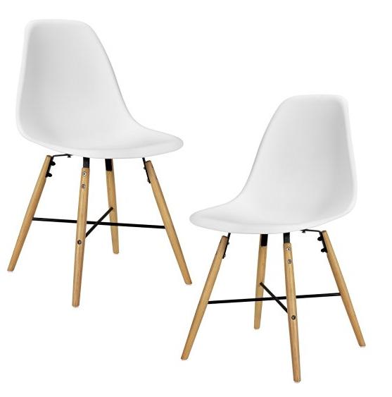 2x Esszimmerstühle im skandinavischen Look für 57,90€ inkl. Versand statt ca. 95€ @eBay