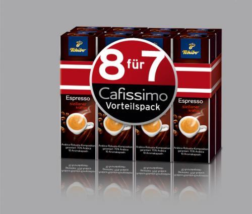 80 Kapseln Cafissimo Vorteilspack verschiedene Sorten