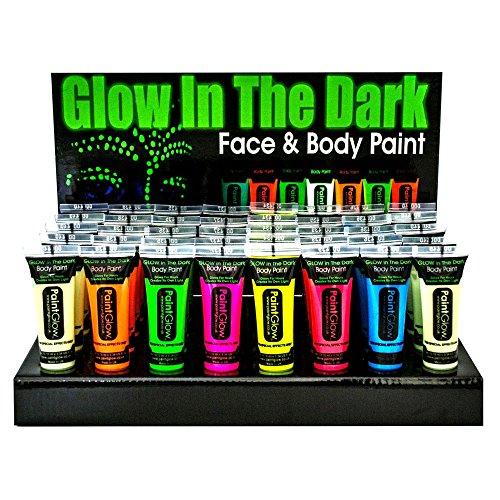 Glow in the Dark Bodypainting-Set 40 Farben für 5,90€ inkl Versand [PREISFEHLER]
