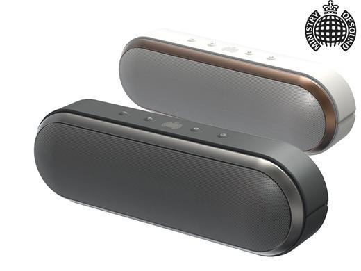 (IBood)  Ministry of Sound Audio S Plus Bluetooth-Lautsprecher für € 49,95