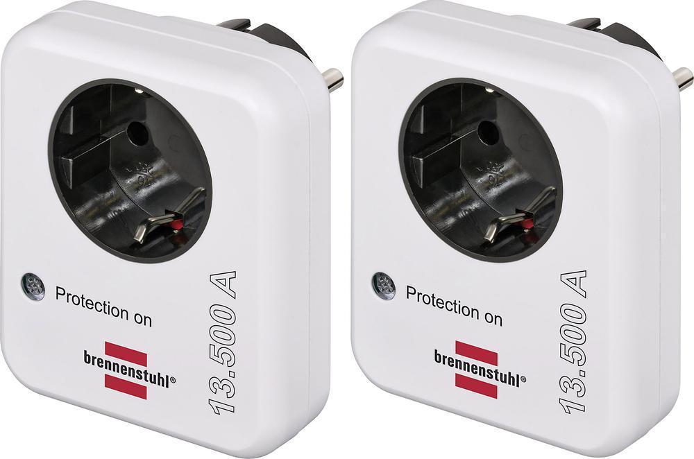 (Ebay Wow) Überspannungsschutz-Zwischenstecker 2er Set, Überspannungsschutz für Steckdosen