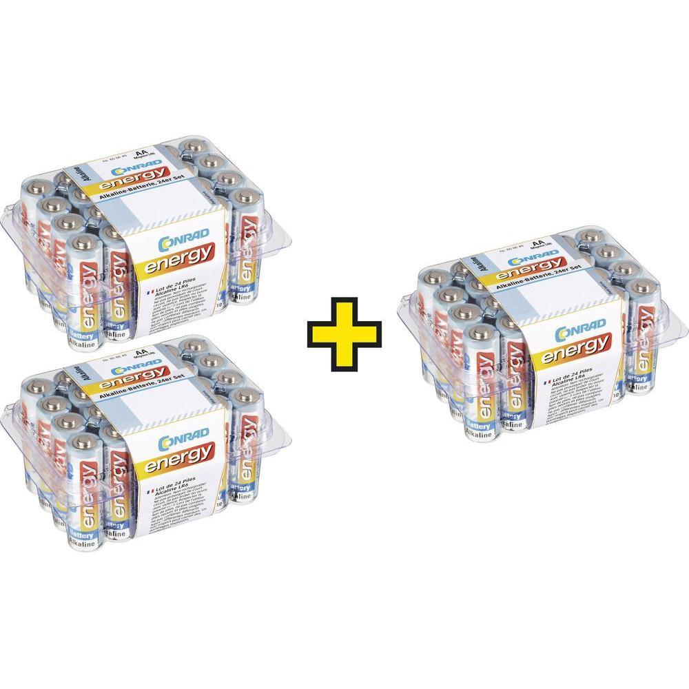(AA)-Batterien - Conrad energy LR06 - Kauf 3 Sets - zahl 2