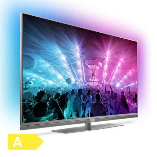 Philips 49PUS7181 4K UHD LED Fernseher Ambilight