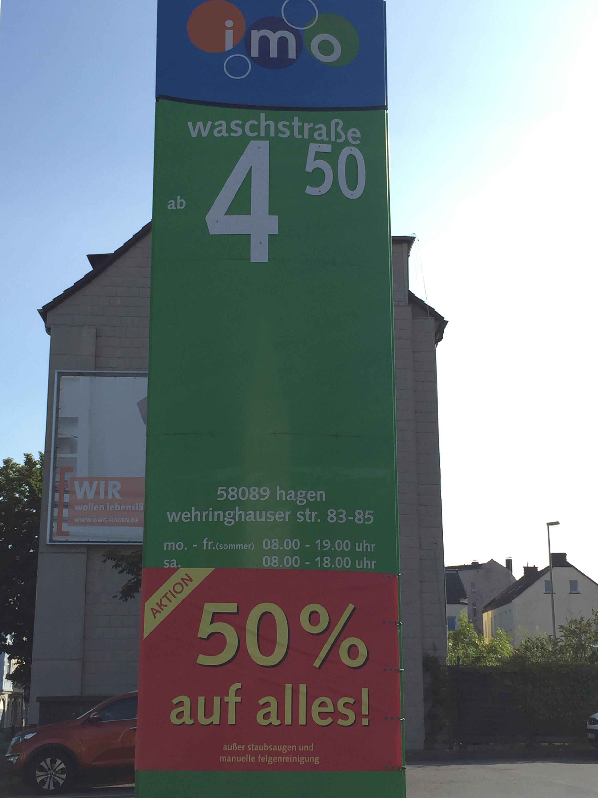 Autowäsche IMO Wash Hagen