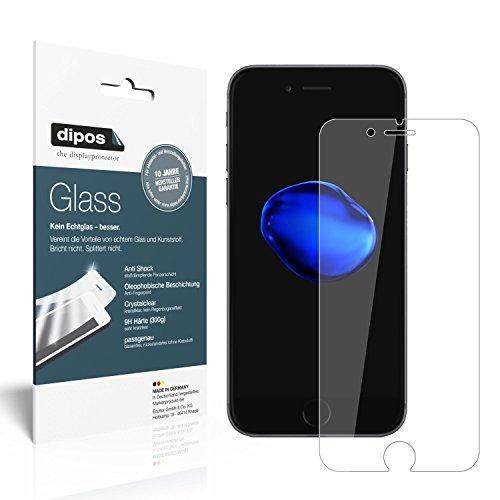 2 gratis  Panzerglasfolie iPhone 7 Schutzfolie Kunststoffglas 9H @amazon
