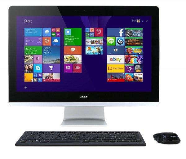 """Acer Aspire Z3-710: 23,8"""" FHD Multi Touch, Intel Core i5-4590T, 4x 2.00GHz, 4GB RAM, 1TB HDD, DVD+/?-RW DL, HDMI, DVI, BT, Gb LAN, Windows 10 für 551,78€ (Amazon.es)"""
