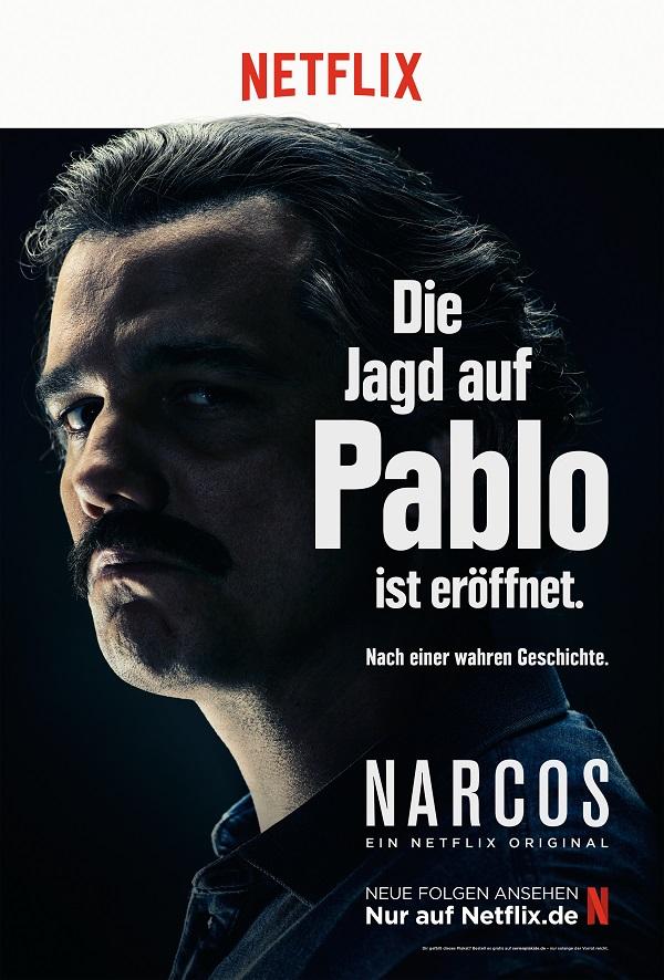 Narcos - Netflix Plakate