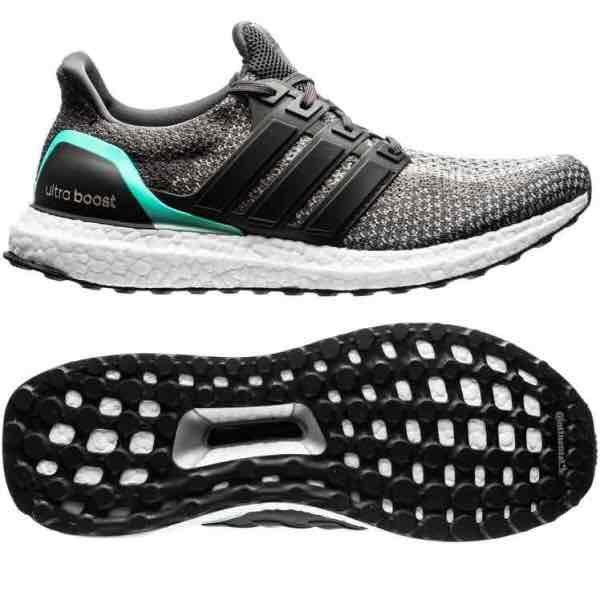 Adidas Ultra Boost M Grey/Mint und Blue